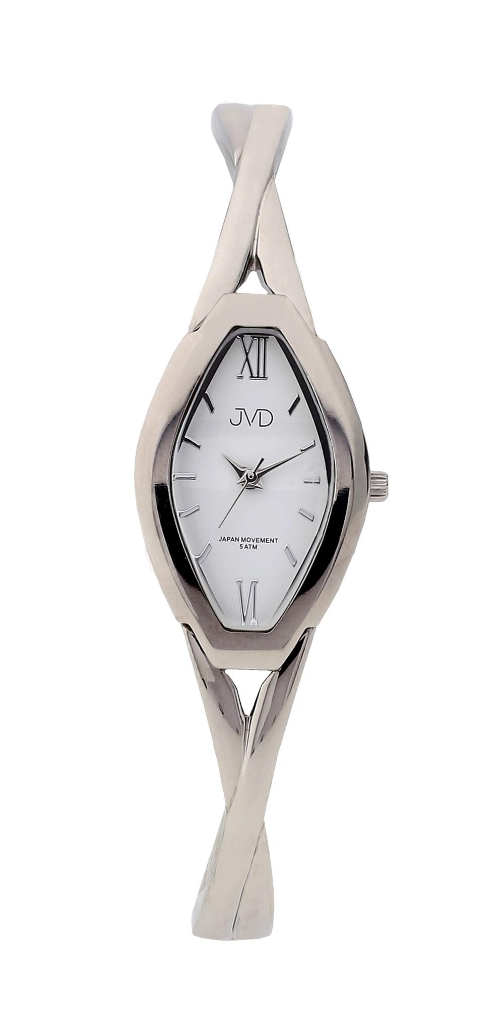 Dámské elegantní antialergické titanové hodinky JVD J5029.1 (POŠTOVNÉ ZDARMA!! - vodotěsnost 5ATM)