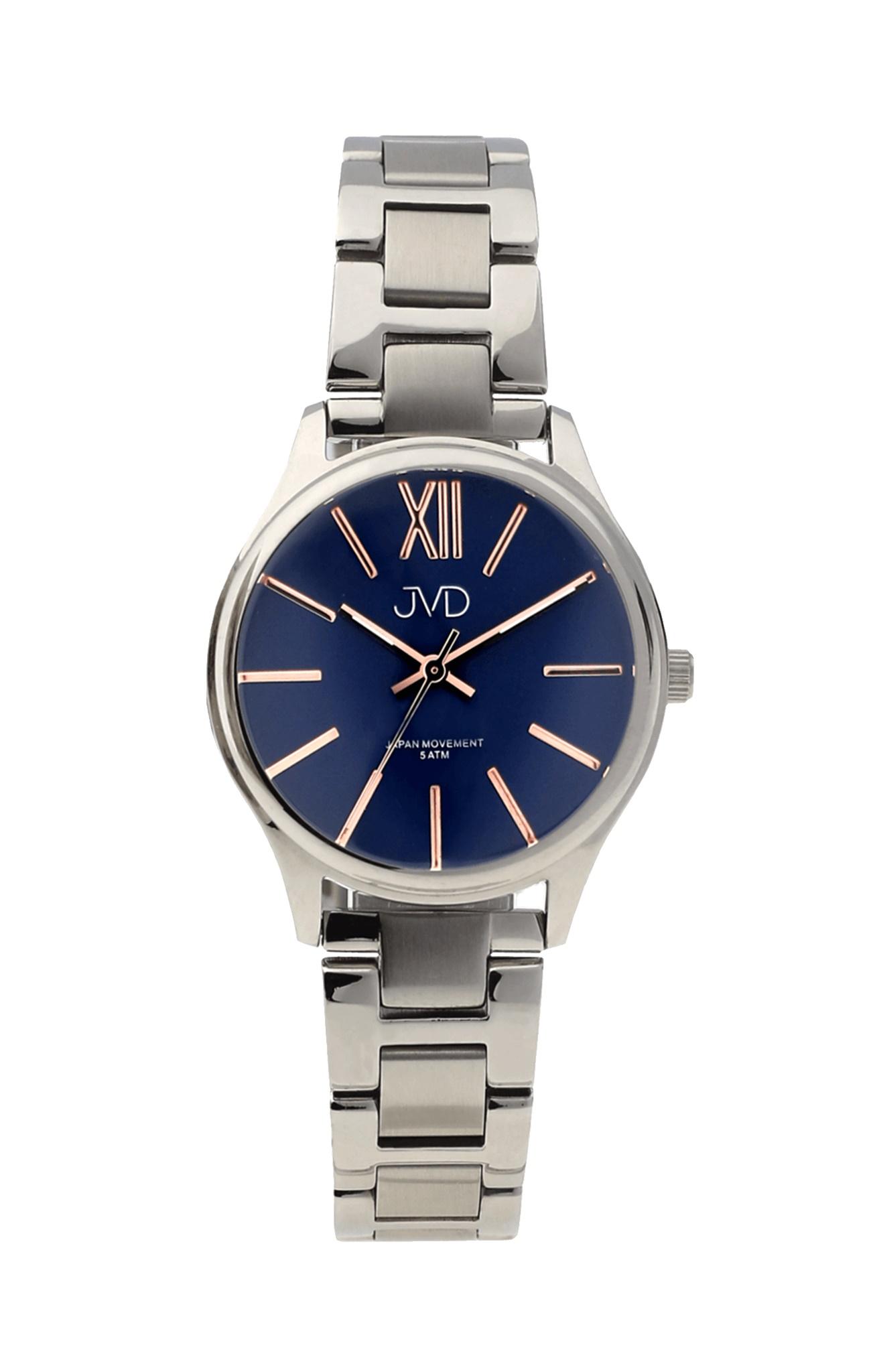 Dámské elegantní ocelové hodinky JVD J4152.1 (POŠTOVNÉ ZDARMA!! - vodotěsnost 5ATM)