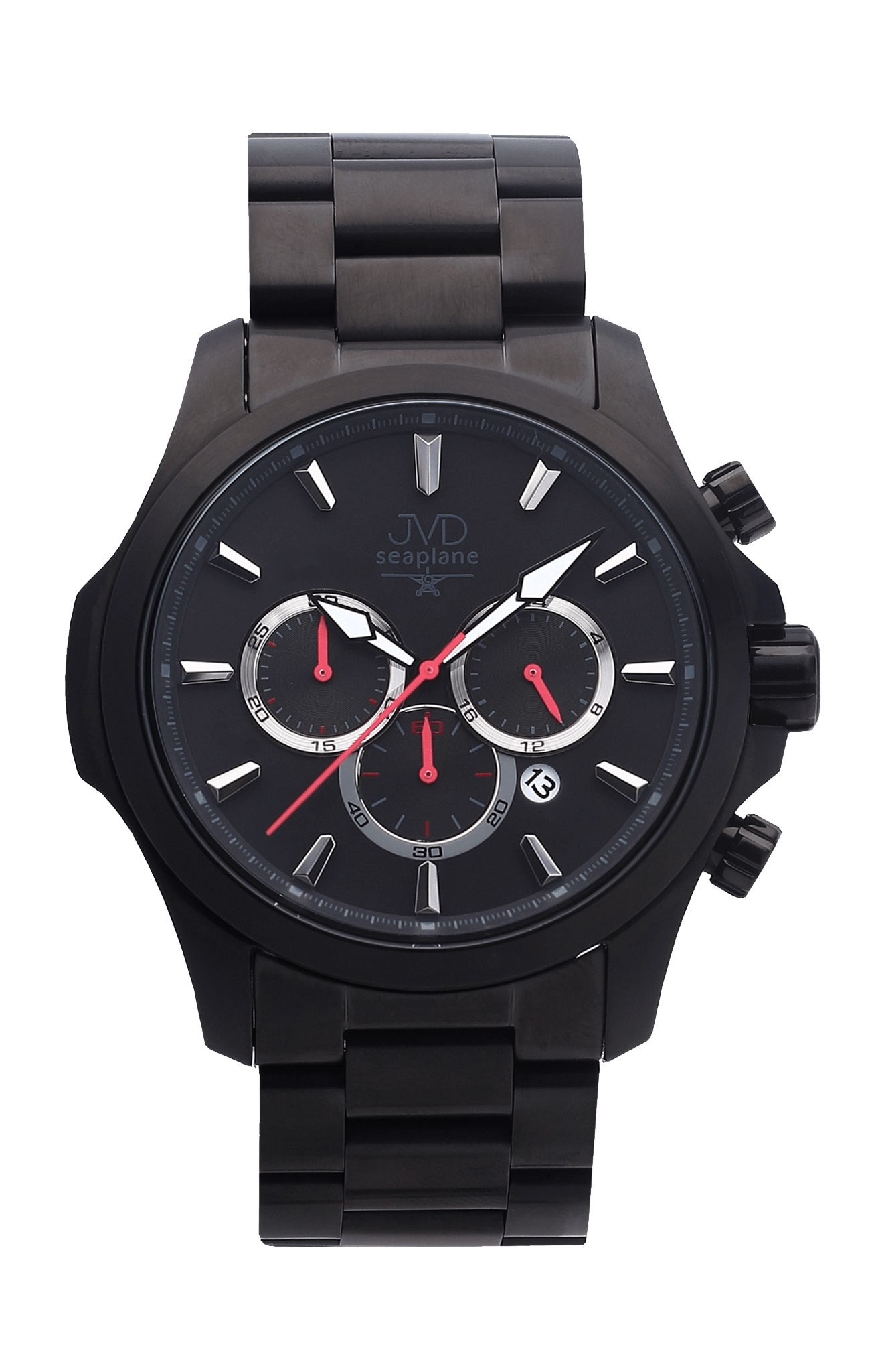 Vysoce odolné vodotěsné chronografy hodinky JVD Seaplane CORE JC704.3 - 10ATM (POŠTOVNÉ ZDARMA!!)