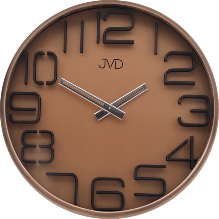 Designové moderní kovové nástěnné hodiny JVD HC18.3 (POŠTOVNÉ ZDARMA!!)