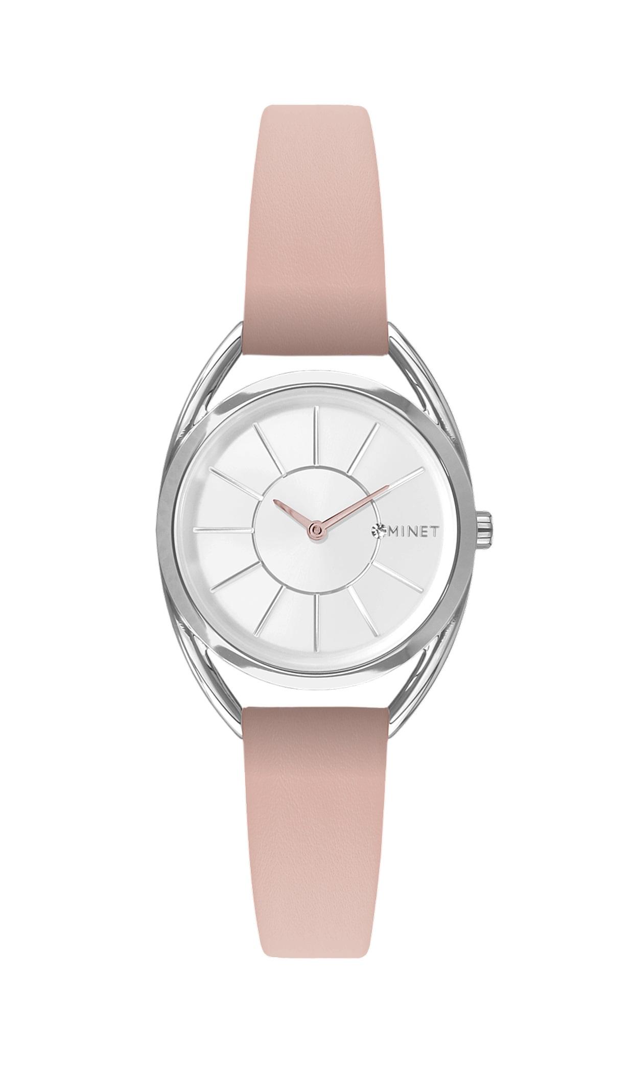 Růžové dámské hodinky MINET ICON NUDE PINK MWL5020 (POŠTOVNÉ ZDARMA!! )