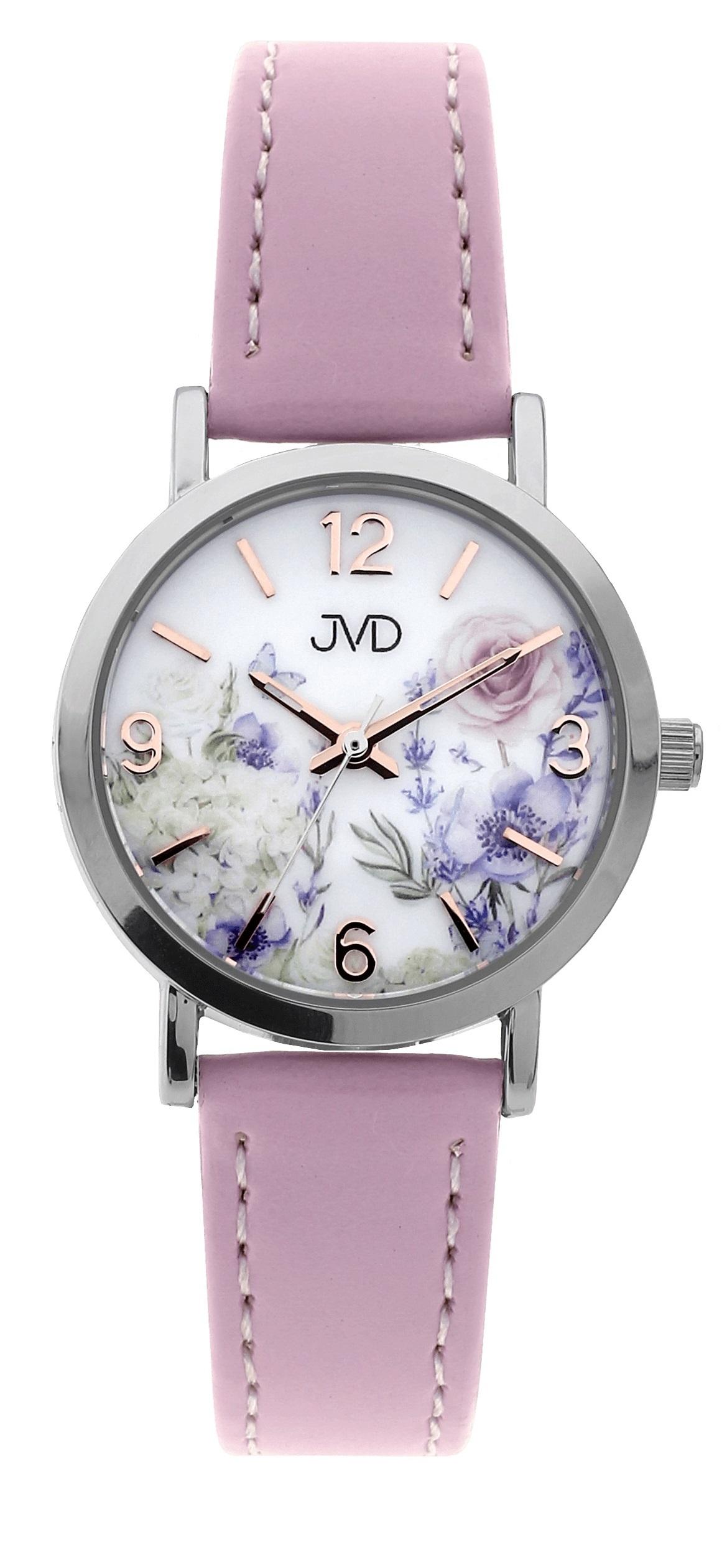 Dětské dívčí přehledné náramkové hodinky JVD J7184.1  9e4d7cc239