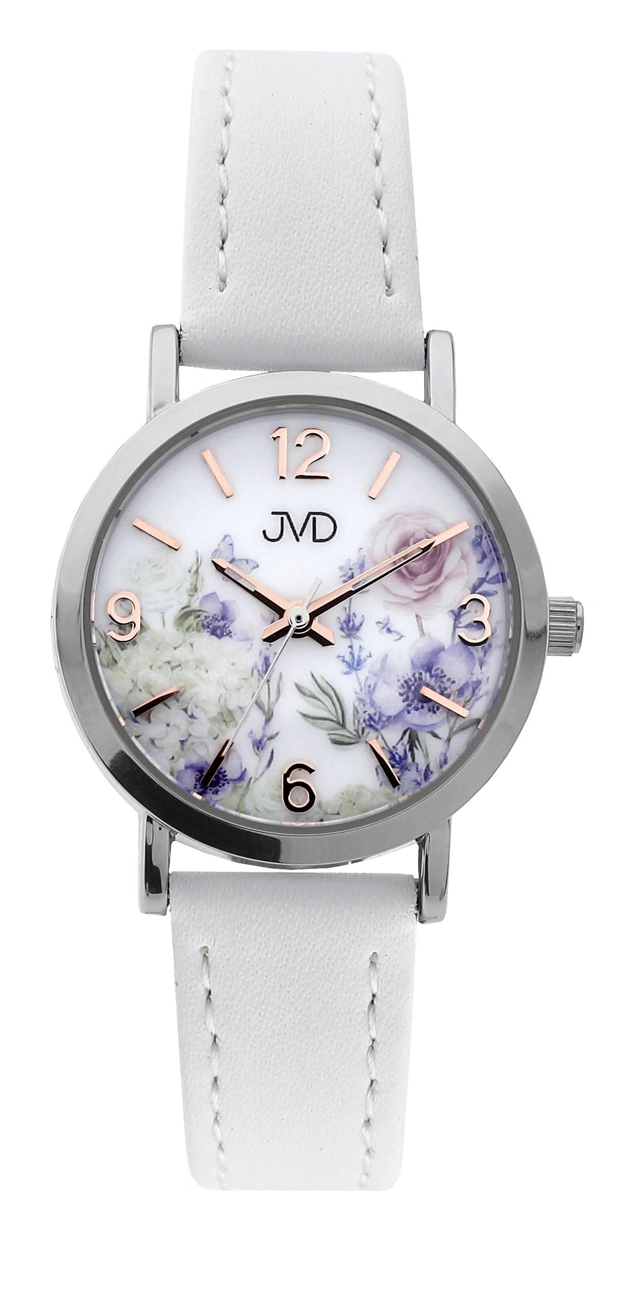 Dětské dívčí přehledné náramkové hodinky JVD J7184.2