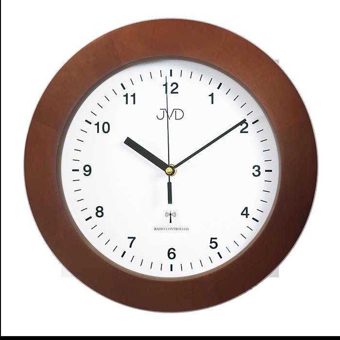 Dřevěné přesné rádiem řízené hodiny JVD RH2226/41 (POŠTOVNÉ ZDARMA!!)