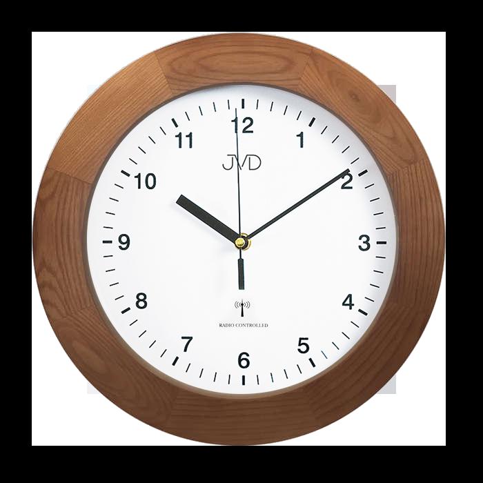 Dřevěné přesné rádiem řízené hodiny JVD RH2226/11 (POŠTOVNÉ ZDARMA!!)