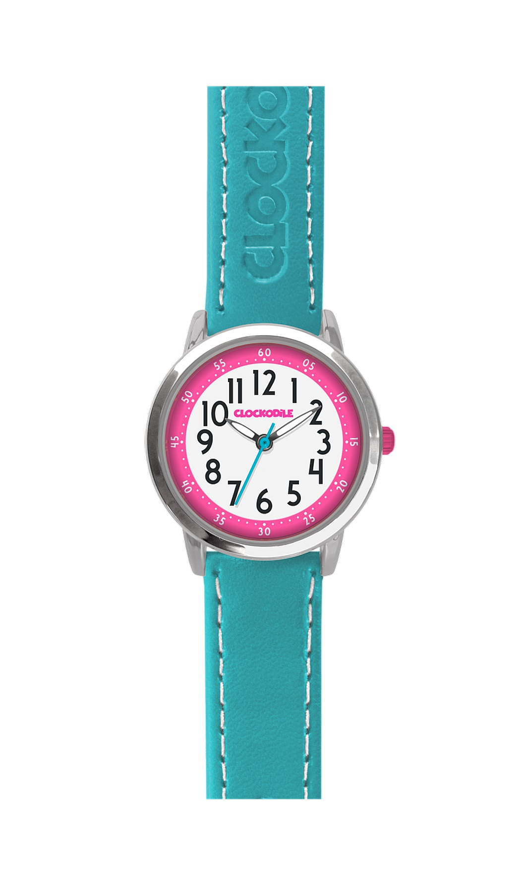 Tyrkysové dětské dívčí hodinky CLOCKODILE COLOUR CWG5011 (CWG5011)