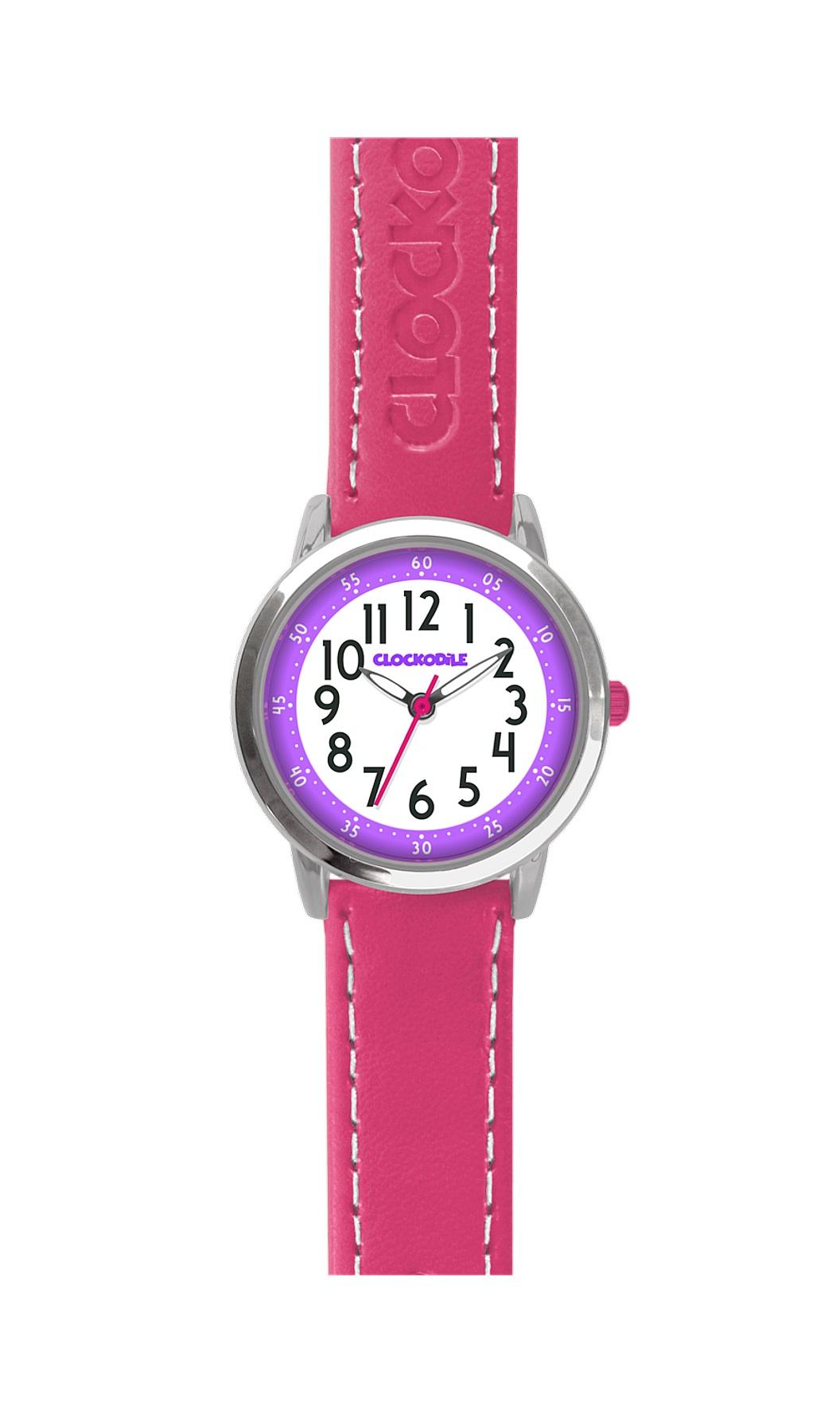 Dětské růžové dívčí hodinky CLOCKODILE COLOUR CWG5010 (CWG5010)