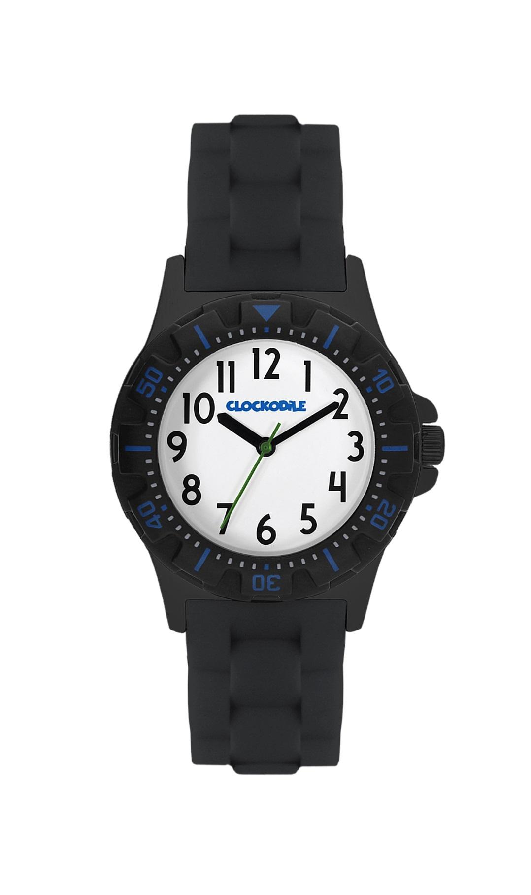 Černo-modré sportovní chlapecké hodinky CLOCKODILE SPORT CWB0022 (CWB0022 - dětské hodinky)