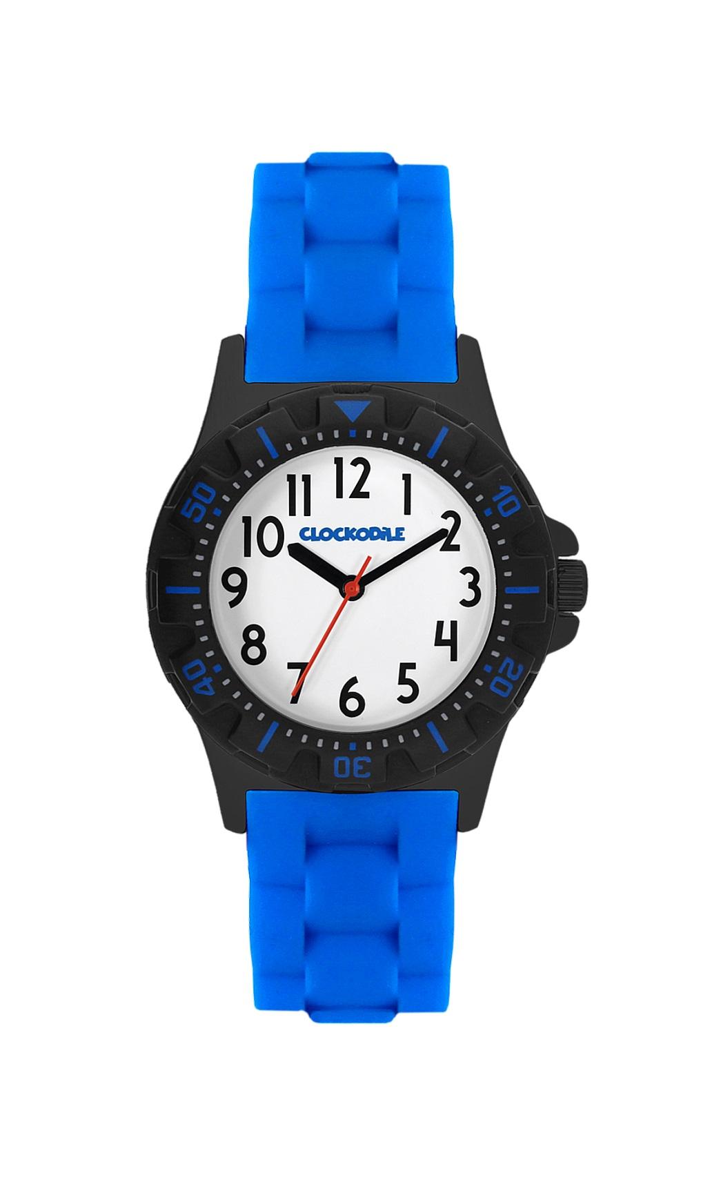 Modré sportovní chlapecké hodinky CLOCKODILE SPORT CWB0020 (CWB0020 - dětské hodinky)