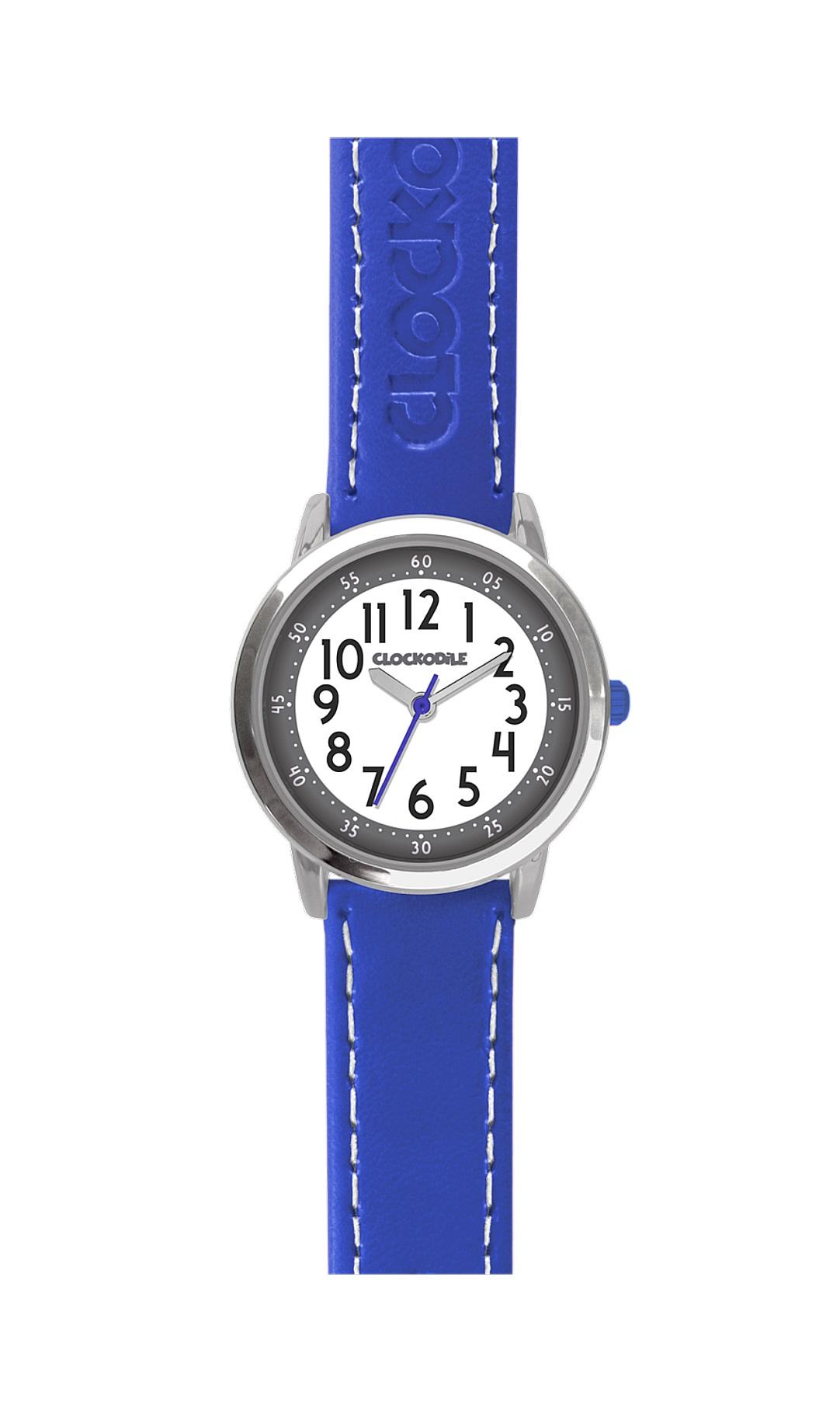 Dětské modré chlapecké hodinky CLOCKODILE COLOUR CWB0012 (CWB0012 - dětské hodinky)
