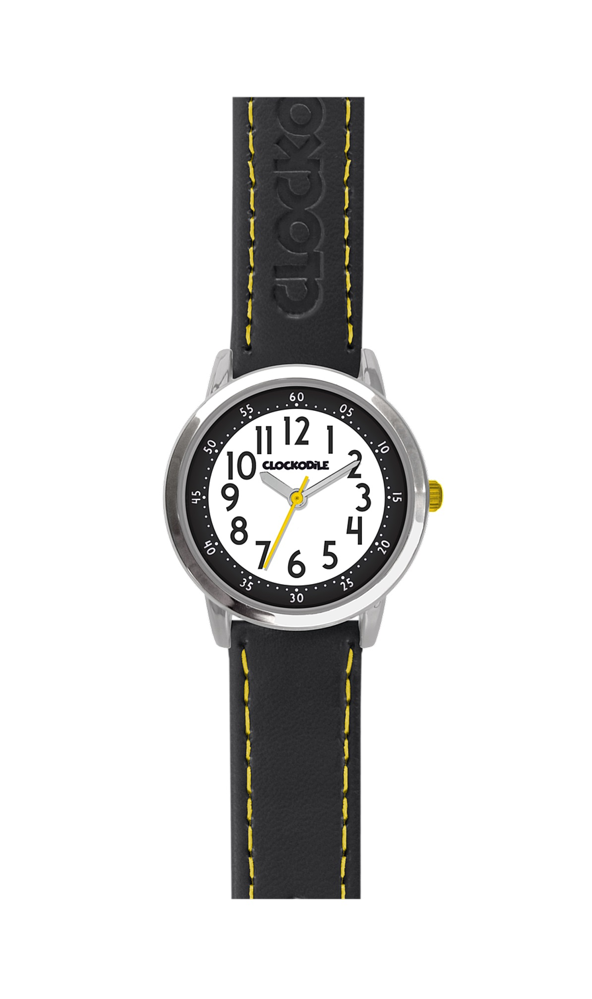 Dětské černé chlapecké hodinky CLOCKODILE COLOURCWB0011 (CWB0011 - dětské hodinky)
