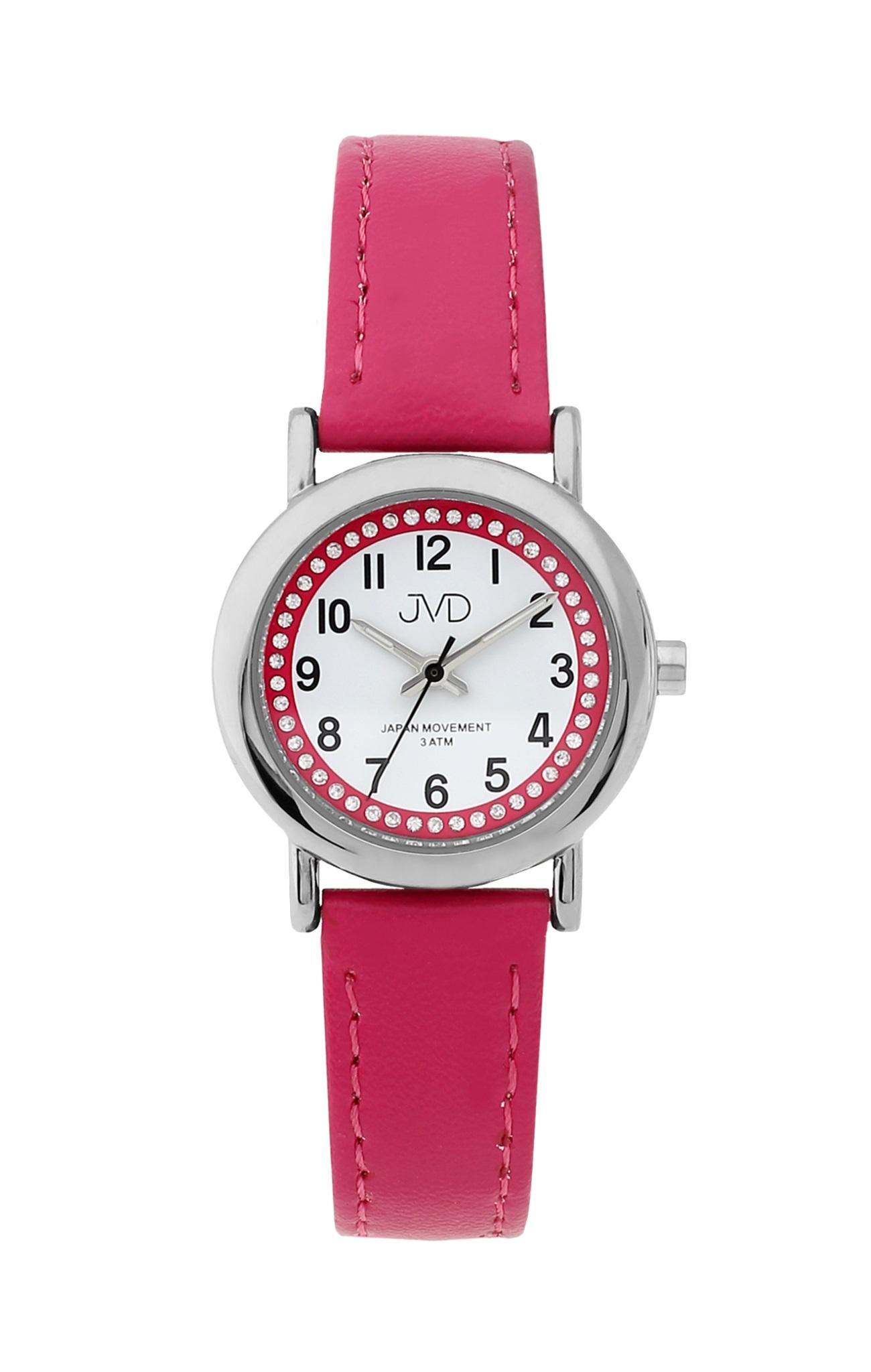 Dětské růžové náramkové hodinky JVD J7179.2 (POŠTOVNÉ ZDARMA!!)