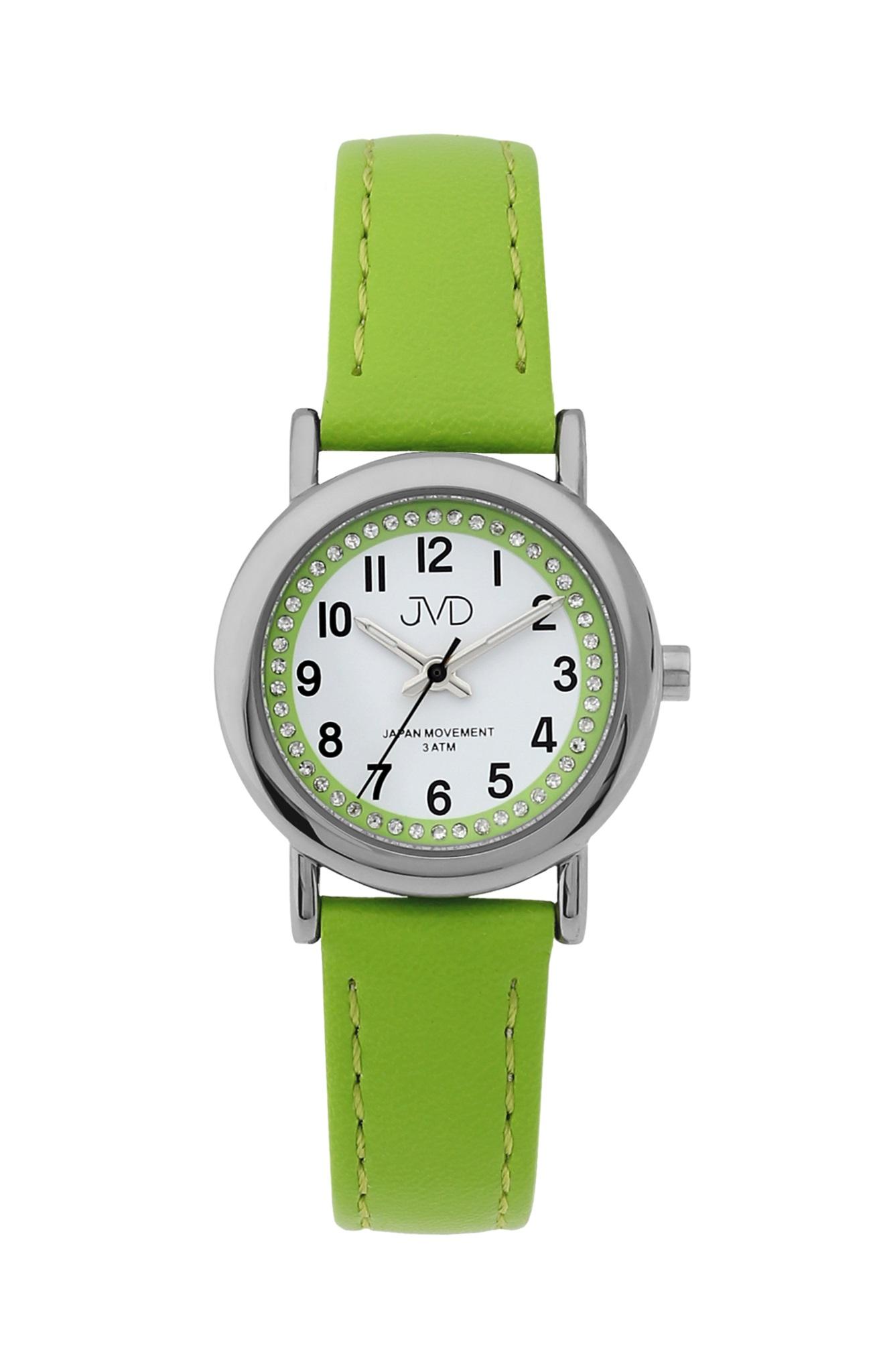 Dětské zelené náramkové hodinky JVD J7179.3 (POŠTOVNÉ ZDARMA!!)