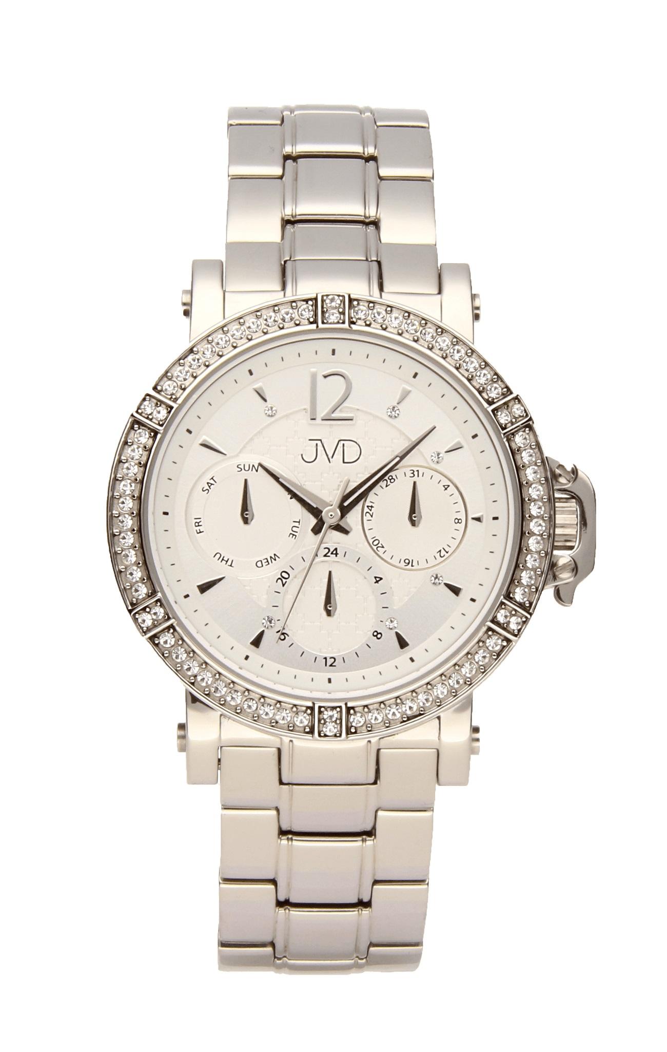 Luxusní dámské náramkové hodinky JC112.1 dámské chornografy se zirkony  (POŠTOVNÉ ZDARMA! 366e1cb93f