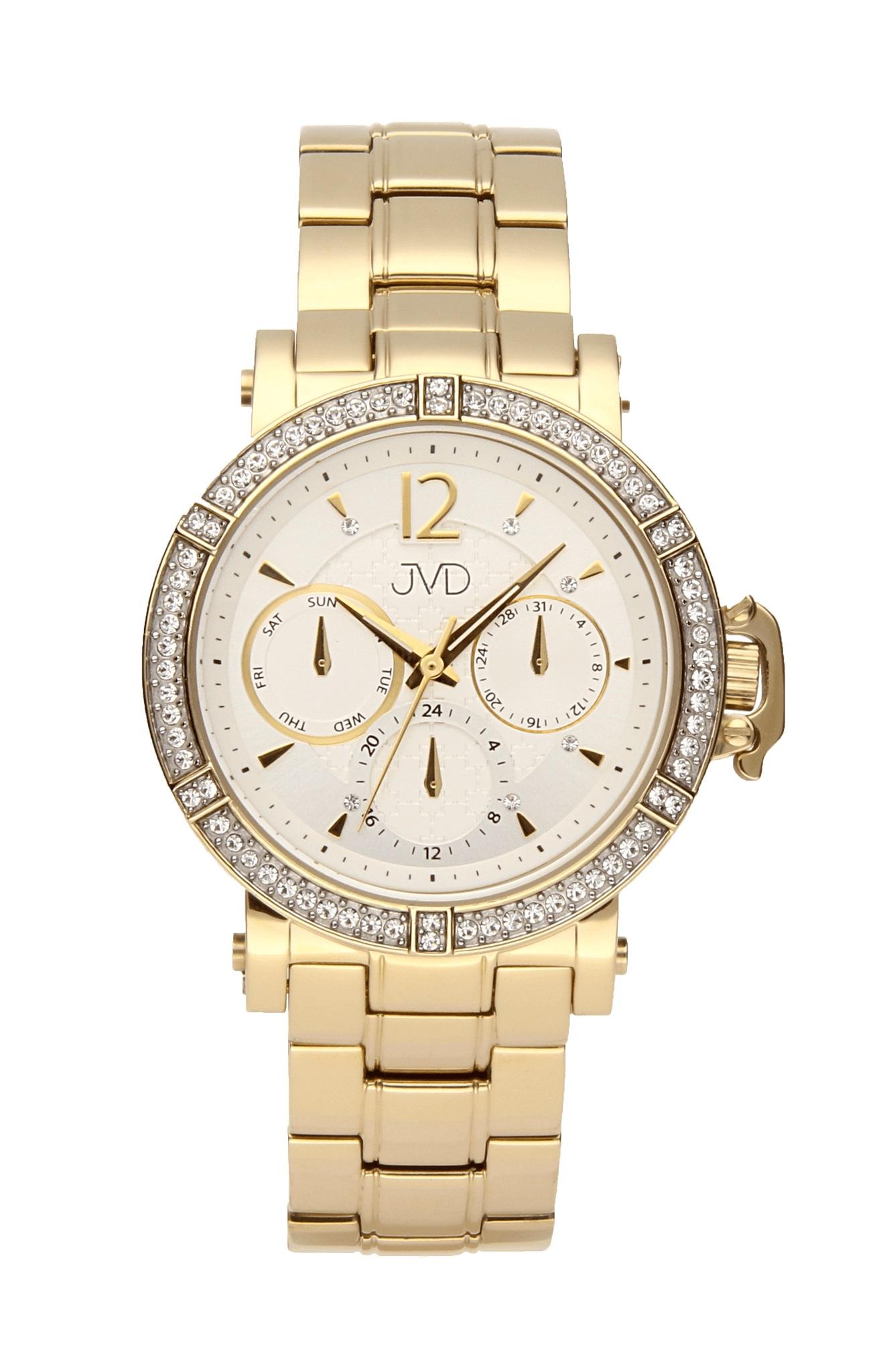 Luxusní dámské náramkové hodinky JC112.2 dámské chornografy se zirkony abe0191d486