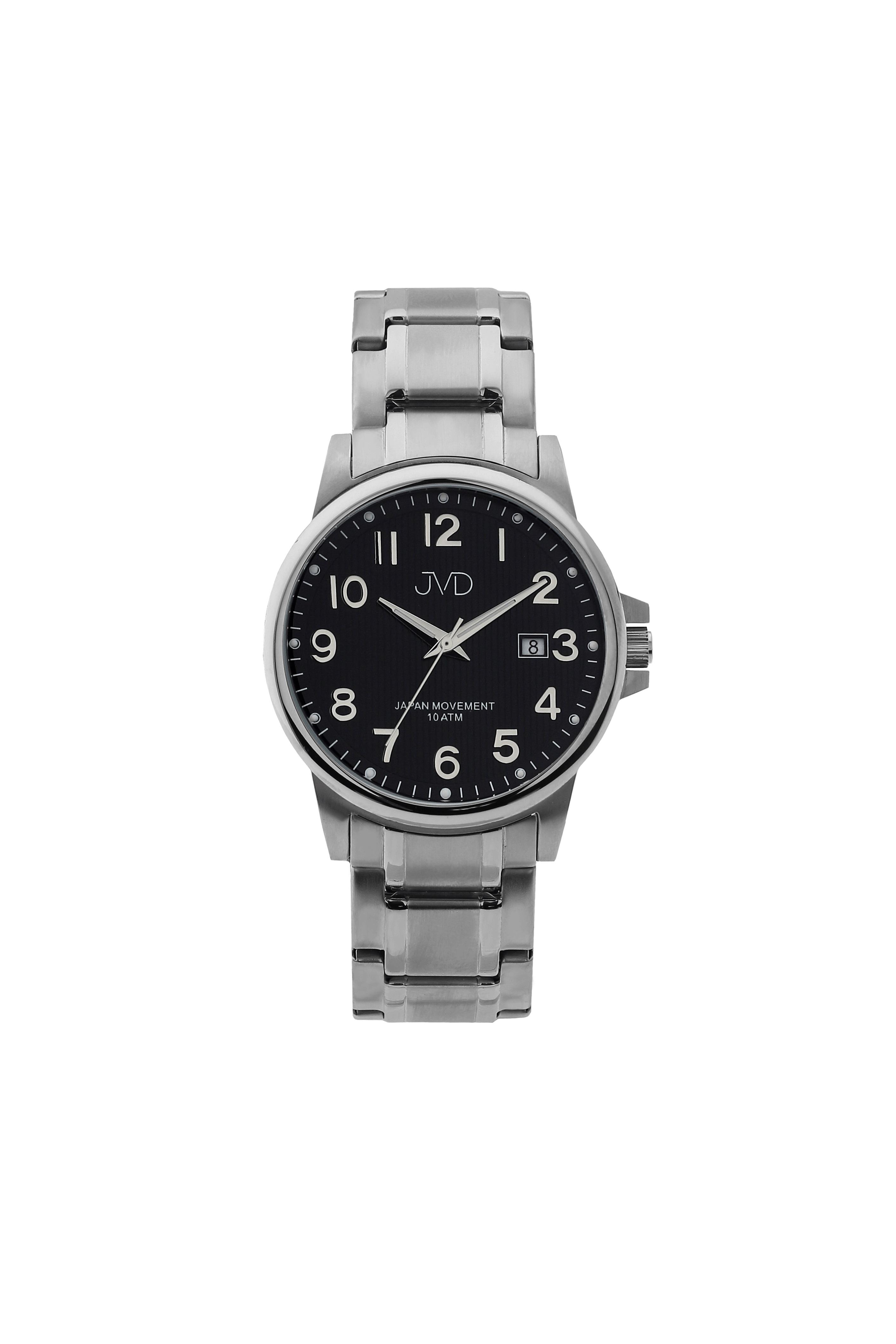 Přehledné čitelné pánské vodotěsné náramkové hodinky JVD J1119.2 (POŠTOVNÉ ZDARMA!!)