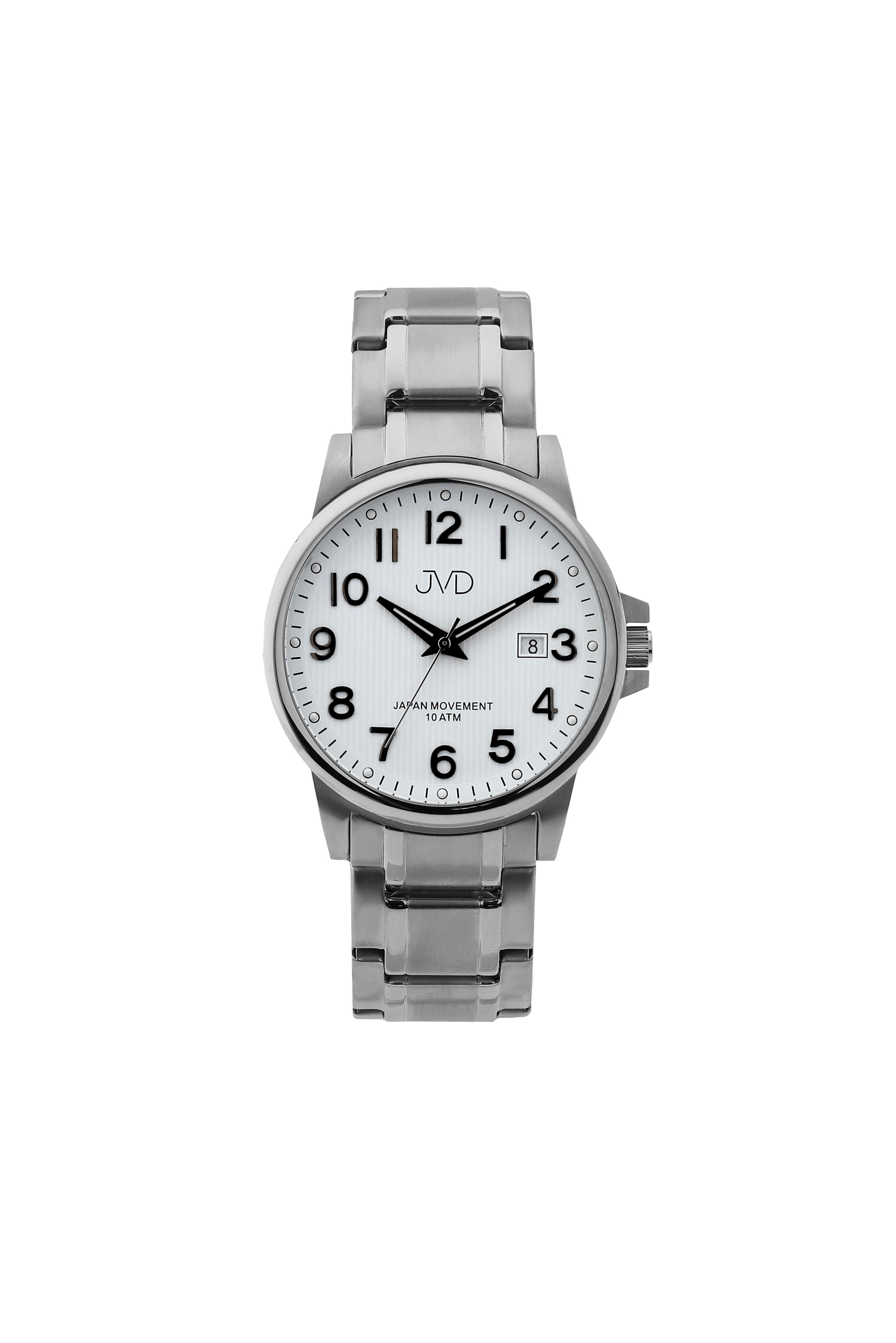 Přehledné čitelné pánské vodotěsné náramkové hodinky JVD J1119.3 (POŠTOVNÉ ZDARMA!!)