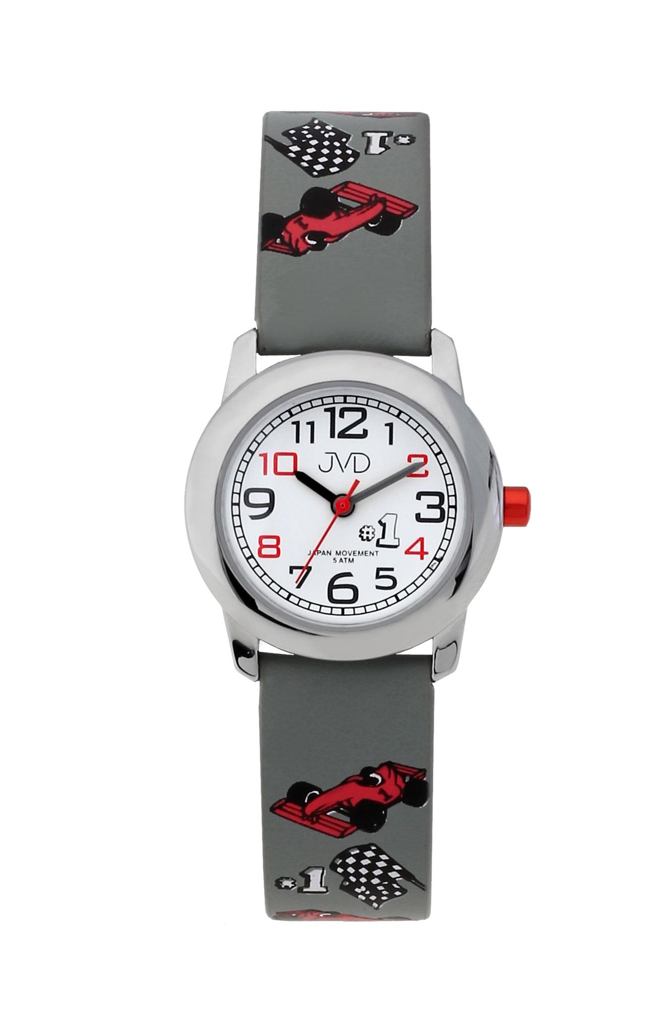 Chlapecké dětské náramkové hodinky JVD J7182.1 s formulí