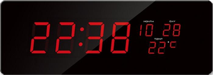 Velké svítící digitální moderní hodiny JVD DH2.2 s červenými číslicemi (POŠTOVNÉ ZDARMA!!)