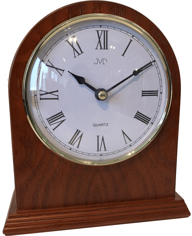 Dřevěné stolní hodiny JVD HS15.3 s římskými číslicemi (POŠTOVNÉ ZDARMA!!)