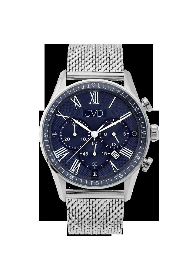 af3f9458c44 Pánské náramkové hodinky JVD JE1001.1 s římskými číslicemi - chronograf  10ATM