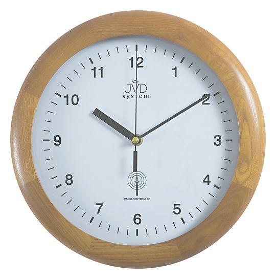 Rádiem řízené nástěnné hodiny JVD system RH2341/68 (POŠTOVNÉ ZDARMA!!!)