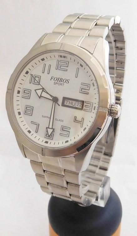 Pánské vodotěsné ocelové přehledné hodinky Foibos sport 7054.1 (safírové sklo) (POŠTOVNÉ ZDARMA!!!)