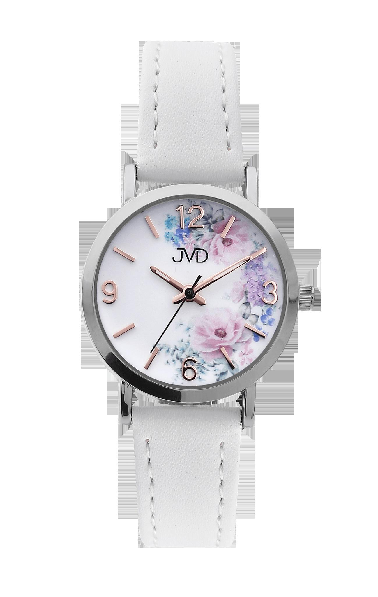Dětské dívčí přehledné náramkové hodinky JVD J7184.10  c9a3210d53