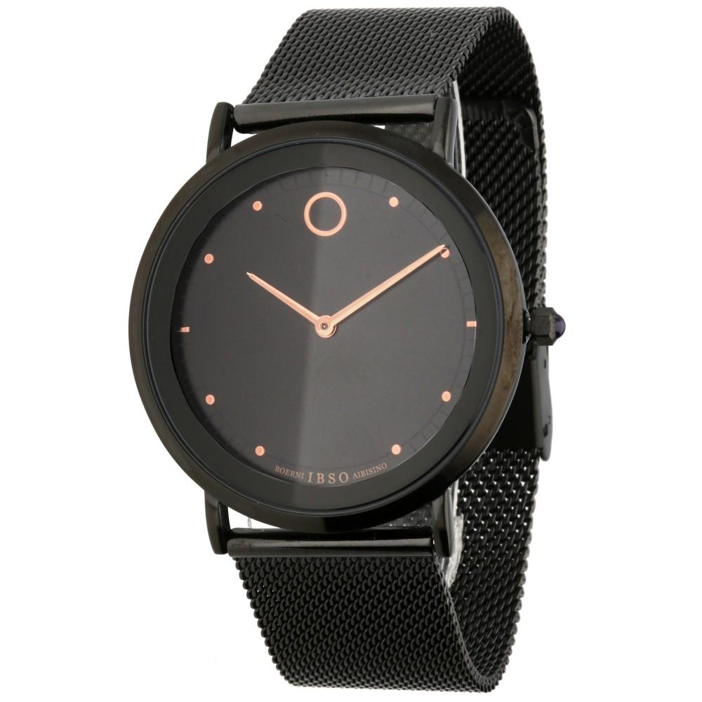 Designové hodinky s jemným ocelovým tahem v černém provedení MPM  W03X.11041.A 8d5947c74a