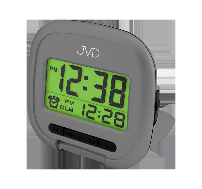 Digitální vícefunkční budík JVD met.šedá SB887.1 ( )