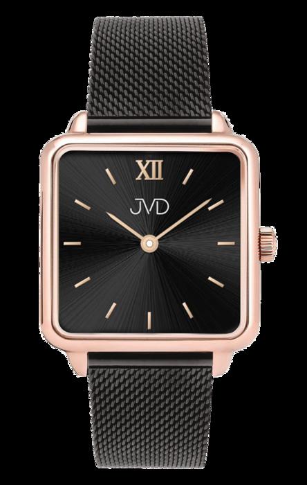 3ebda6058 Luxusní dámské elegantní nerezové ocelové hranaté hodinky JVD J-TS20