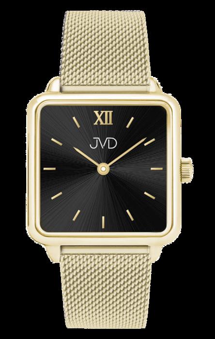 609299afa Luxusní dámské elegantní nerezové ocelové hranaté hodinky JVD J-TS22