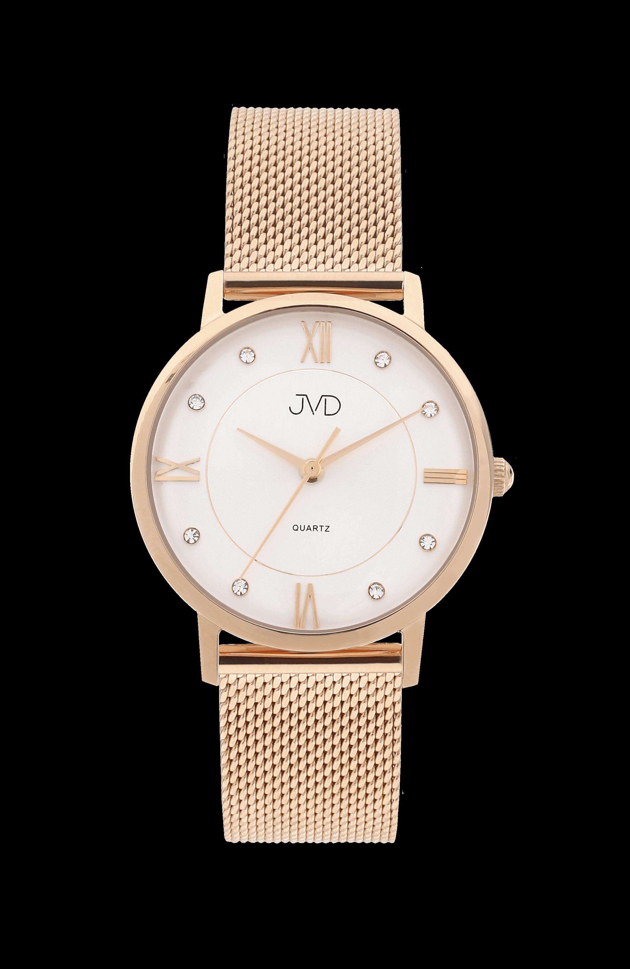 Dámské módní značkové náramkové hodinky JVD JG1006.2  e42107b17c