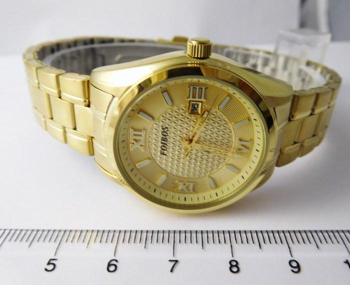 Kompletní specifikace · Ke stažení · Související zboží. Dámské ocelové  zlacené hodinky Foibos 1Y43.1 s římskými číslicemi a453c45ca23