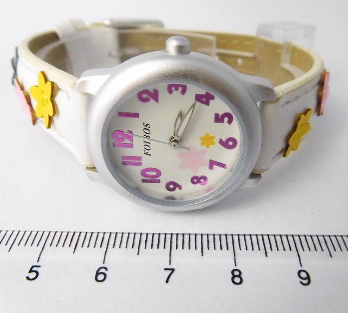 bf3d15a4337 Kompletní specifikace · Ke stažení · Související zboží. Dětské dívčí bílé  hodinky Foibos 1055 pro malé děvčata