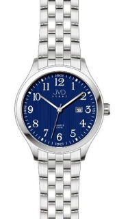 Ocelové moderní náramkové hodinky J1038.2 - 5ATM modrý číselník a3d2e9ed74