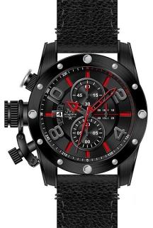 11cacf3f9d0 Pánský chronograf - luxusní vodotěsné hodinky JVD Seaplane W47.3 10ATM