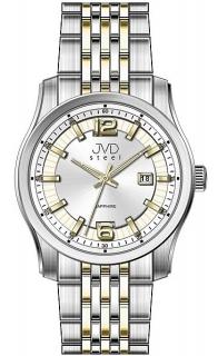 Pánské ocelové moderní náramkové hodinky JVD Steel W43.2 - stroj SEIKO 5ATM a0fd81c3a1