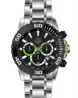 87fdb3b081d Sportovní vodotěsné ocelové chronografy hodinky JVD Seaplane J1089.1 - 10ATM