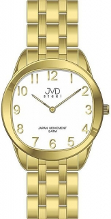 Pánské ocelové náramkové hodinky JVD steel J4116.3 - 5ATM b710fa592f