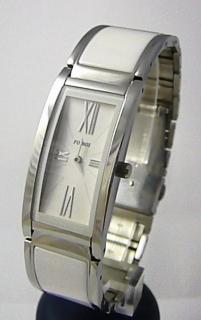 Luxusní bílé keramické dámské voděodolné hodinky Foibos 1K81 3ATM 182367f7097