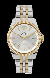 Pánské ocelové nerezové hodinky JVD steel J4129.2 - 5ATM e0e09a4cfb