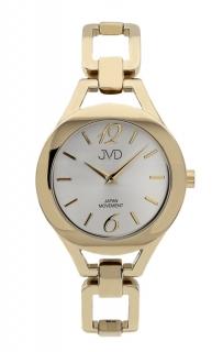 Dámské nerezové voděodolné hodinky JVD JC029.2 s datumovkou ba8ae6a6bf