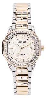 ae6b45060e9 Dámské švýcarské značkové luxusní hodinky Lacerta LC202 se safírovým sklem