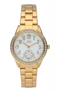 Dámské luxusní náramkové hodinky JVD steel J4132.2 f993925902