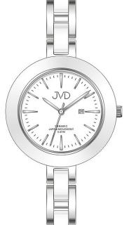 Dámské keramické čitelné módní hodinky JVD J4134.1 - 5ATM fe77ce4f6d