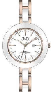 Dámské keramické čitelné módní hodinky JVD J4134.3 - 5ATM e90b98edf4d