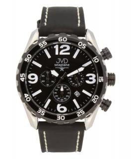 Vodotěsné pánské luxusní chronografy - hodinky JVD Seaplane JA1907.1 - 10ATM c6d29a6315