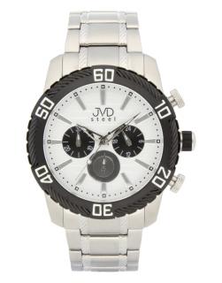 Mohutné pánské celonerezové vodotěsné hodinky JVDC 1130.3 s chronografem  10ATM 15e61d2dc6d