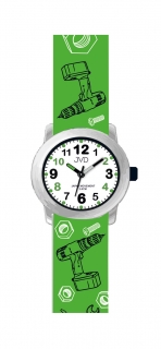 93a206cbd34 Dětské chlapecké náramkové hodinky JVD J7175.3 pro dětské kutily